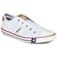 Shoes Women Low top trainers Mustang NAJERILLA White