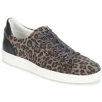 Shoes Women Low top trainers Yurban JUKKY Black