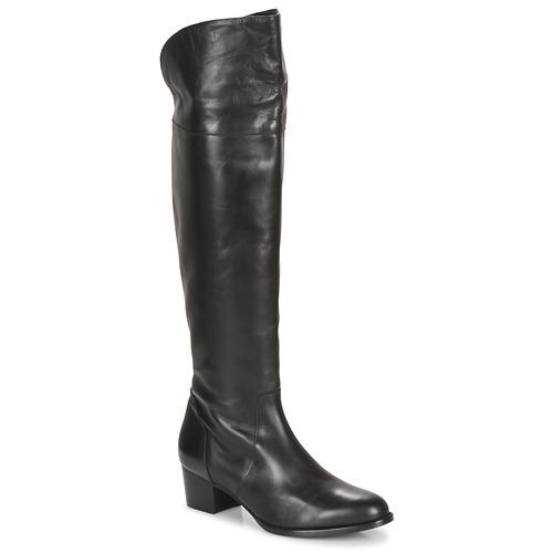 Shoes Women Thigh boots So Size JICHELIEU Black