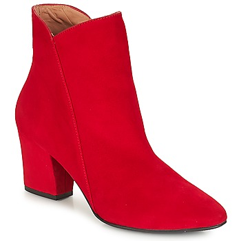 Shoes Women Ankle boots Fericelli JORDENONE Red