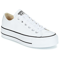 Shoes Women Low top trainers Converse CHUCK TAYLOR ALL STAR LIFT CLEAN OX White