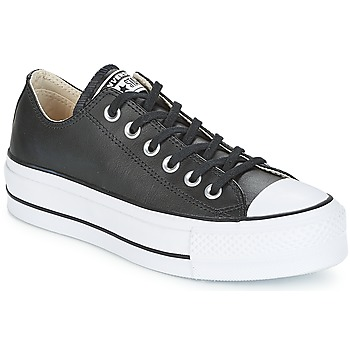 Shoes Women Low top trainers Converse CHUCK TAYLOR ALL STAR LIFT CLEAN OX Black / White