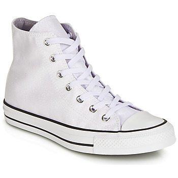 Shoes Women Hi top trainers Converse CHUCK TAYLOR ALL STAR HI White / Glitter