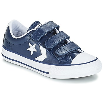 Shoes Children Low top trainers Converse STAR PLAYER EV V OX Navy / White
