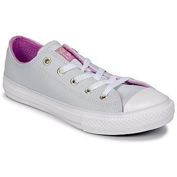 Shoes Girl Hi top trainers Converse CHUCK TAYLOR ALL STAR HI Pure / Platinum / Fuschia /  glow / White