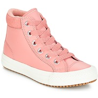 Shoes Girl Hi top trainers Converse CHUCK TAYLOR ALL STAR PC BOOT HI Rust / Pink / Burnt / Caramel / Rust / Pink