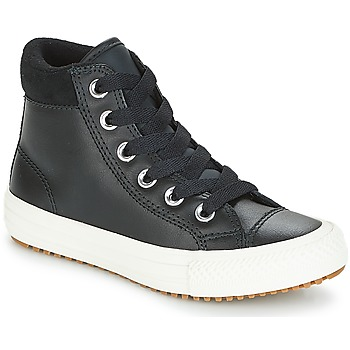 Shoes Children Hi top trainers Converse CHUCK TAYLOR ALL STAR PC BOOT HI Black / White