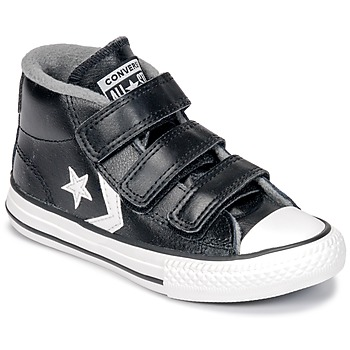 Shoes Children Hi top trainers Converse STAR PLAYER 3V MID  black / Mason / Vintage / White