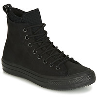Shoes Men Hi top trainers Converse CHUCK TAYLOR ALL STAR WP BOOT LEATHER HI Black