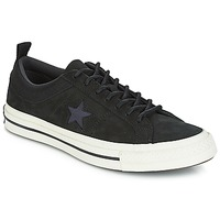 Shoes Low top trainers Converse ONE STAR LEATHER OX Black