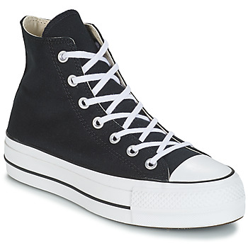 Shoes Women Hi top trainers Converse CHUCK TAYLOR ALL STAR LIFT CANVAS HI Black
