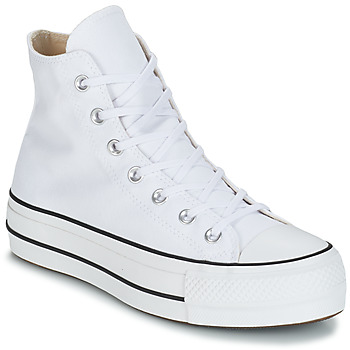 Shoes Women Hi top trainers Converse CHUCK TAYLOR ALL STAR LIFT CANVAS HI White