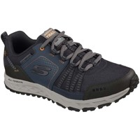 Shoes Men Low top trainers Skechers Escape Plan Mens Lace-Up Trainer blue