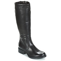Shoes Women High boots Dream in Green ACHMED Black