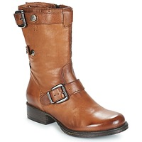 Shoes Women Mid boots Dream in Green NARAMEL Brown