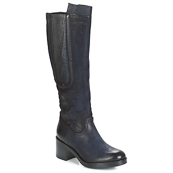 Shoes Women High boots Dream in Green HUFRO Marine