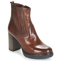 Shoes Women Ankle boots Dream in Green JERYCABE Brown