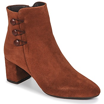 Shoes Women Ankle boots Betty London JOYE Camel