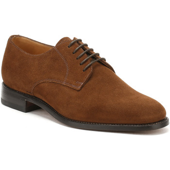 Shoes Men Shoes Loake Mens Brown Suede 205 Shoes Brown