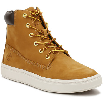 Shoes Women Mid boots Timberland Womens Wheat 6 Inch Londyn Boots Yellow