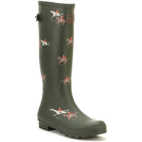 Shoes Women Wellington boots Joules Womens Olive Horse Ajusta Welly Boots Green
