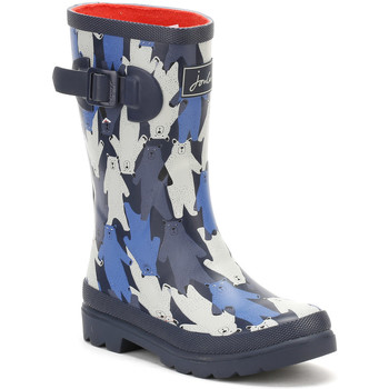 Shoes Children Wellington boots Joules Youth Black Multi Bear Camo Wellington Boots Black
