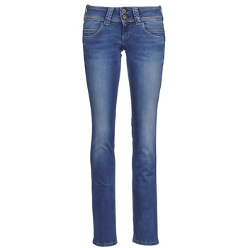 Clothing Women straight jeans Pepe jeans VENUS Blue / Medium