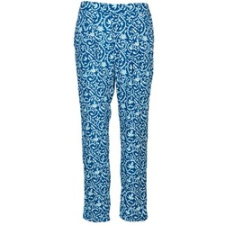 Clothing Women Wide leg / Harem trousers Pepe jeans GEORGINA Blue