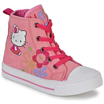 Shoes Girl Hi top trainers Hello Kitty HK LONS Pink