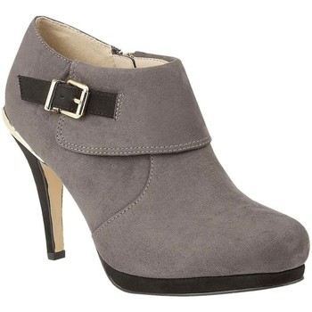 Shoes Women Heels Lotus Vollmer Womens High Cut Court Shoes grey