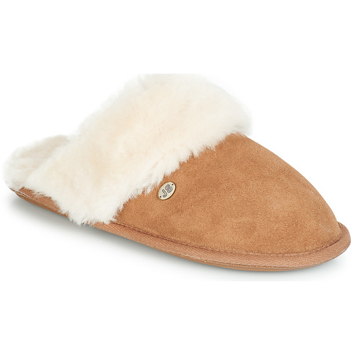Shoes Women Slippers Just Sheepskin DUCHESS Camel