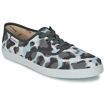 Shoes Women Low top trainers Victoria INGLESA ESTAMP HUELLA TIGRE Grey