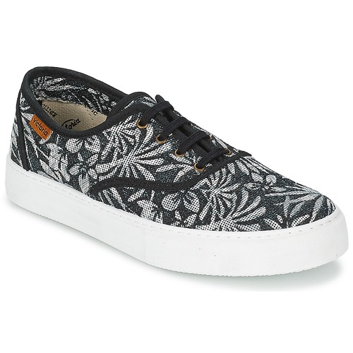 Shoes Women Low top trainers Victoria INGLES ESTAP HOJAS TROPICAL Black