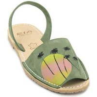 Shoes Women Sandals Ria Twins 27126-S2 Women´s Avarcas Sandals green