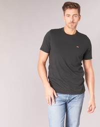 Clothing Men Short-sleeved t-shirts Levi's SS ORIGINAL HM TEE Black