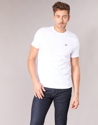 Clothing Men Short-sleeved t-shirts Levi's SS ORIGINAL HM TEE White