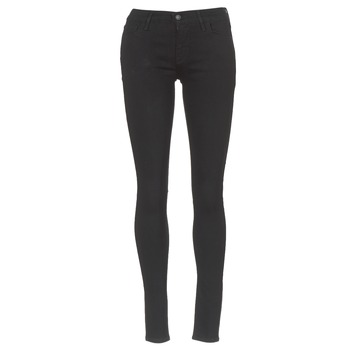 Clothing Women Skinny jeans Levi's INNOVATION SUPER SKINNY  black / Galaxy