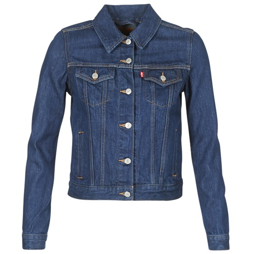 Clothing Women Denim jackets Levi's ORIGINAL TRUCKER Blue / Raw