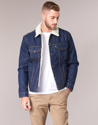 Clothing Men Denim jackets Levi's TYPE 3 SHERPA TRUCKER Rockridge / Trucker