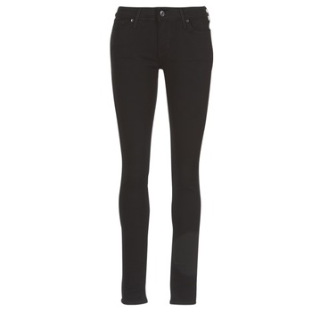 Clothing Women Skinny jeans Levi's 711 SKINNY  black / Sheep
