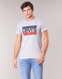 Clothing Men short-sleeved t-shirts Levi's SPORTSWEAR LOGO GRAPHIC Grey