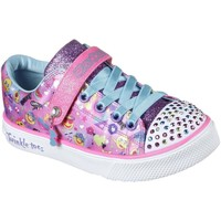 Shoes Girl Shoes Skechers Twinkle Breeze 2.0 Character Cutie Girls Trainers pink
