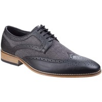 Shoes Men Shoes Lambretta Fenchurch Mens Derby Brogues black