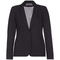 Clothing Women Jackets / Blazers Anastasia Ex Principles - Women's Black Single Breasted Suit Jacket Black