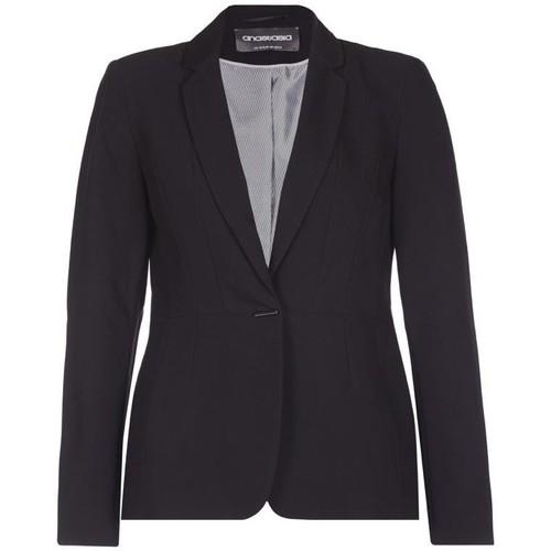 Clothing Women Jackets / Blazers Anastasia Single Breasted Suit Jacket Black