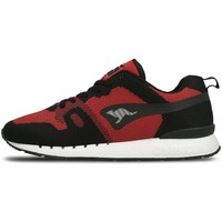 Shoes Men Low top trainers Kangaroos Omnicoil Woven Black-Red