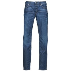 Clothing Men straight jeans G-Star Raw 3301 LOW TAPERED Blue / MEDIUM