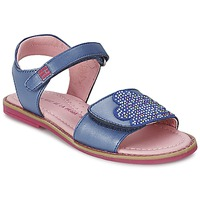 Shoes Girl Sandals Agatha Ruiz de la Prada MISS PONZA Blue