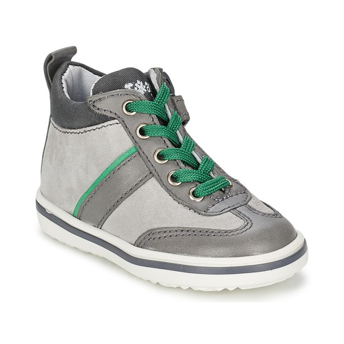 Shoes Children Hi top trainers Acebo's ABARNE Grey