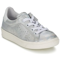 Shoes Girl Low top trainers Acebo's GAILA Silver